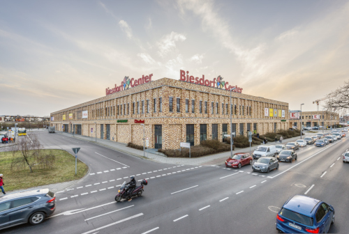 Außenansicht Biesdorf Center